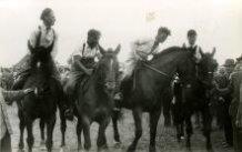 Poperinge: winnaars van de derby op de Grote Heerlijkheid in 1951