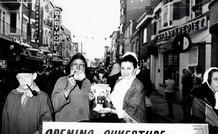 De Panne: opening 'Shopping Street' Kasteelstraat