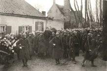 Houtem:begrafenisstoet Generaal Wielemans