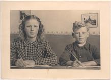 Westvleteren: klasfoto in Sint-Sixtusschool