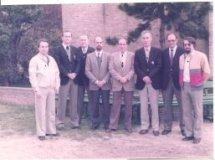 De Panne: lerarenkorps Sint-Pieterscollege 1983