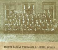 Veurne: Koninklijke Harmonie St.-Cecilia anno 1895