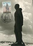 De Panne: herinnering aan de Dag van de Postzegel, 1968