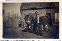 Hollebeke: boerenknecht met paarden