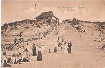 Koksijde: glijbanen in de duinen...