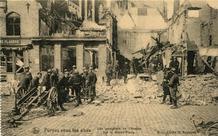 Veurne: de militaire brandweer heeft de laatste brand eindelijk geblust