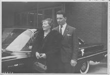 Foto van Hubert met zijn oma.