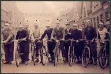 Zarren: sportieve inwoners op de fiets