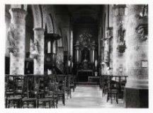 Zandvoorde: binnenzicht kerk