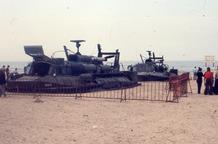 De Panne: hoovercraft op het strand