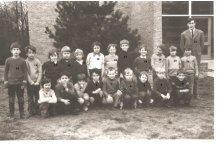 De Panne: eerste leerjaar Sint-Pieterscollege, 1972-1973