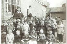 De Panne: klasfoto Marktschooltje 1960-1961
