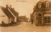Bulskamp: inkijk in de Nieuwstraat (de huidige St. Bertinusstraat)