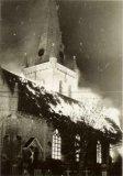 Oostvleteren: brand Sint-Amatuskerk