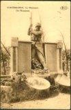 Kortemark: monument slachtoffers eerste wereldoorlog