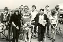Diksmuide: wielrennen: Gilbert Farazijn in de prijzen