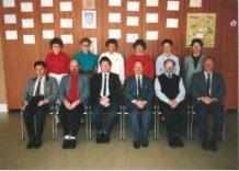 Veurne: lerarenkorps lagere afdeling Koninklijk Atheneum 1986