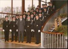 De Panne: politie met burgemeester Versteele in het gemeentehuis