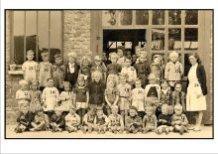 De Panne: klasfoto 1948