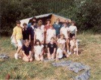 Wibrin: Jonggidsen van de Kortemarkse scouts op kamp