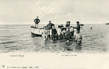 De Panne: excursie op zee met Pier Kloeffe en Toptje Kazale