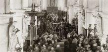 Houtem: begrafenisplechtigheid Generaal Wielemans