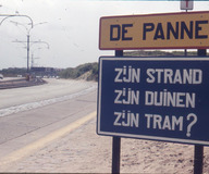 De Panne: protest heraanleg tram