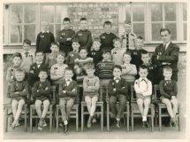 De Panne: 1ste en 2de leerjaar St.-Aloysiusschool, 1962-1963