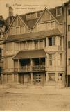 De Panne: Villa's les Aigues-marines en les Coraux, naoorlogse nieuwbouw op de westelijke Zeedijk