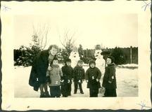 Kortemark: sneeuwpret voor de kleutertjes van Huilaart