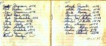 Poelkapelle: schriftje H kindsheid 1966