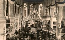 Noordschote : aanstelling Pastoor Valère Pollet in 1946