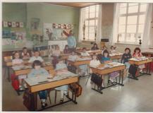 Klasfoto 2de Leerjaar meisjesschool
