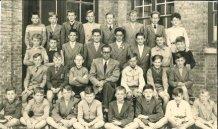 Nieuwpoort: 6e leerjaar St.-Bernarduscollege 1955-1956