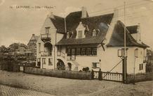 De Panne: Villa l'Enclos in de Duinkerkelaan
