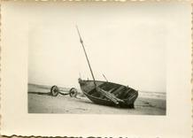 De Panne: panneschuit Liliane op het strand