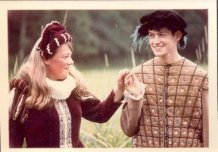 Hollebeke: koppel uit de Spaanse tijd in de stoet Hollebeke-1000