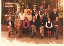 De Panne: leerkrachten St.-Pieterscollege 1981-1982