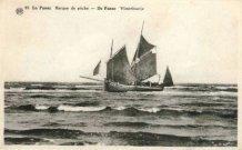 De Panne: navigatie op zee