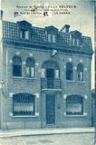 De Panne: Pension 'Villa Helvetia' in de Kerkstraat