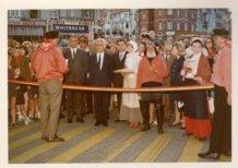 De Panne: officiële opening 'Shopping Street'