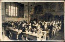 Langemark: klasfoto jongensschool