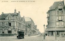 De Panne: Hôtel Maritime, de la Plage, Américain en Continental in de Duinkerkelaan