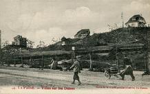 De Panne: drie villa's - Beau Séjour, Star en Kykhill - op de duintoppen