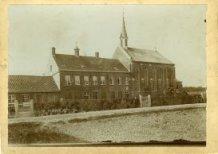 Poperinge: klooster op 't Vogeltje anno 1904