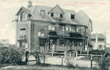 De Panne: Villa's les Cocorlis en Charley op de grens van de eerste Dumontverkaveling