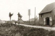 Houtem: de Schipperiestraat anno 1918