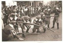 De Panne: karabijnschutters in carnavalstoet