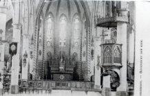 Jonkershove: binnenzicht kerk