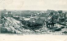 De Panne: panorama van op de Kykhillduin